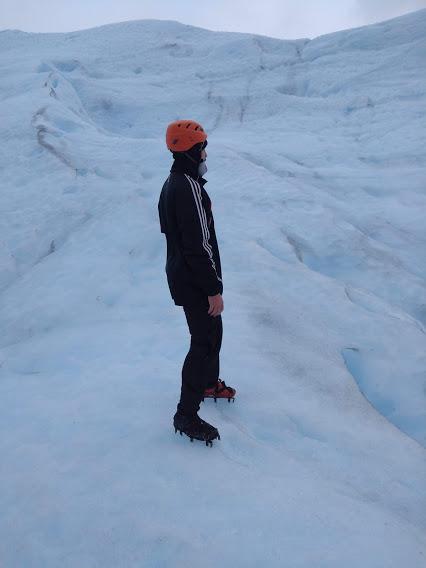 Mataco en el hielo